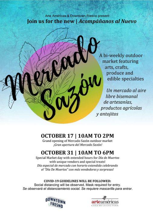 Mercado Sazon event