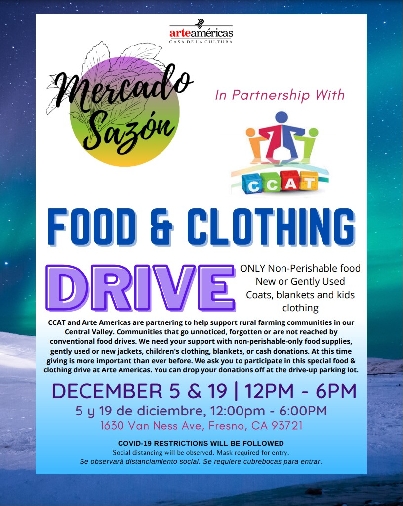 food clothing drive