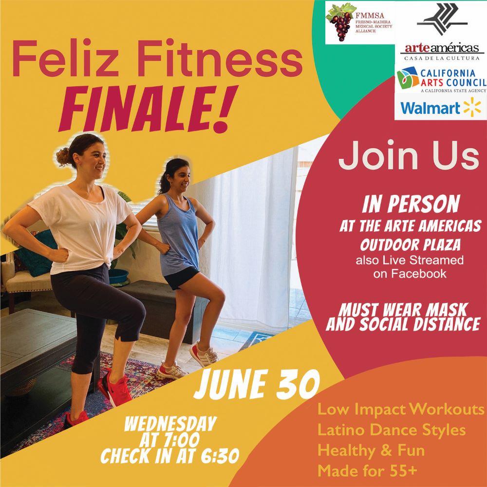 feliz fitness finale flyer