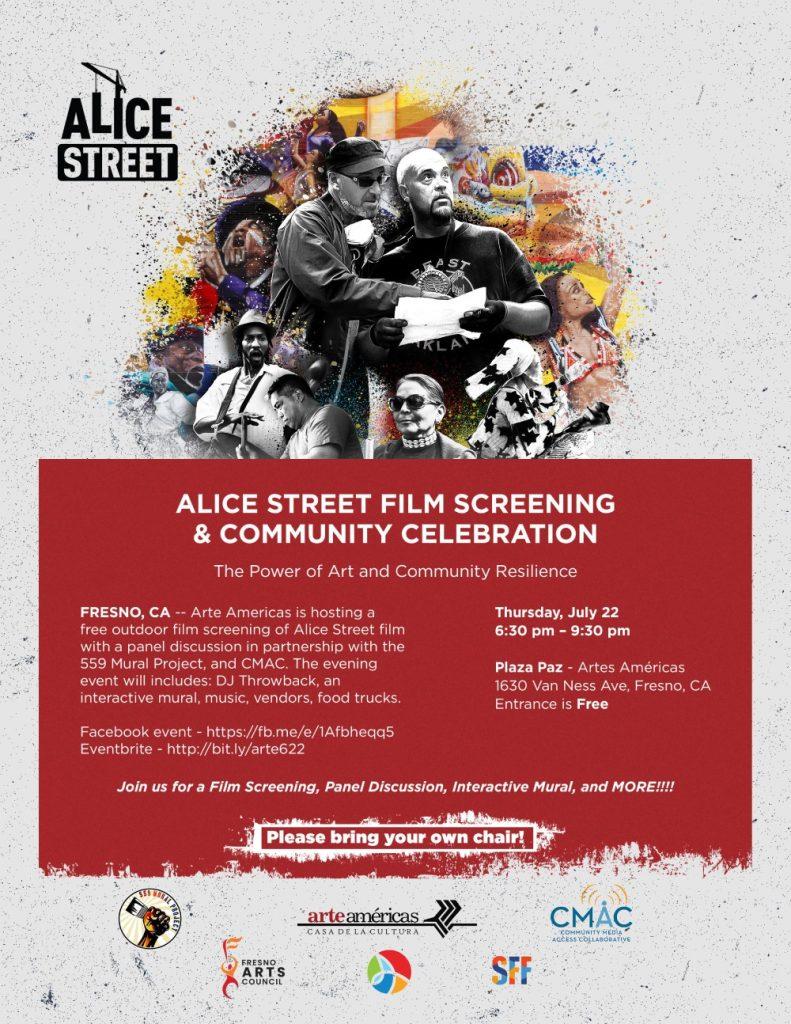alice street film event flyer