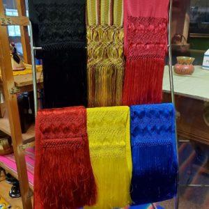 color scarfs